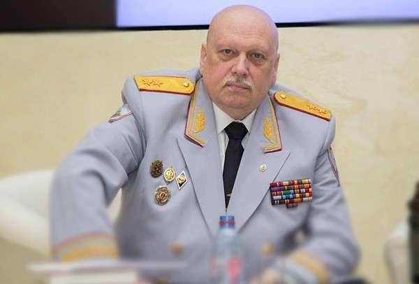 Генерал-майор ФСБ Александр Михайлов. Фото из личного архива.