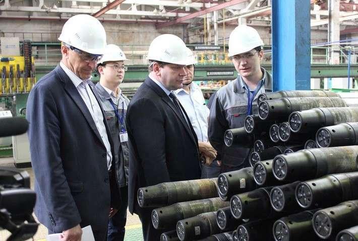 Линия по производству бурильных труб открыта в Невьянске Свердловской области