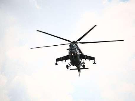 В Сирии сбит вертолет с двумя российскими военными - Минобороны