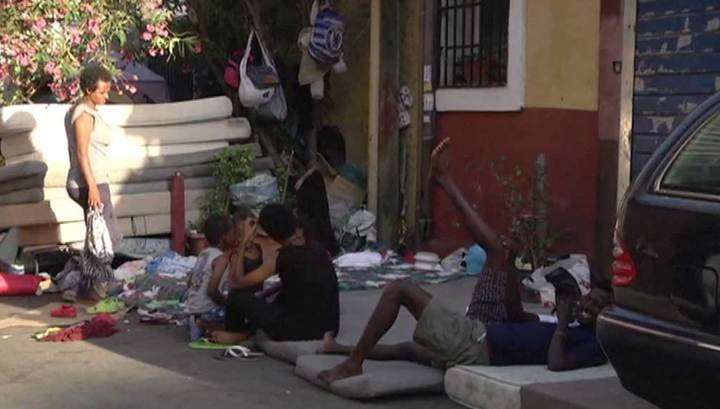 Беженцы-нелегалы превратили итальянскую коммуну Верано в свалку