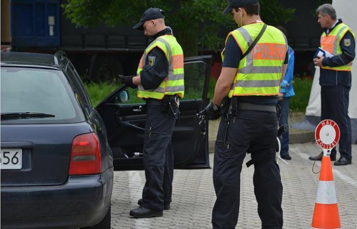 В результате беспорядков в Берлине пострадали 123 полицейских