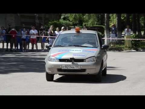 В Ульяновске показали беспилотную Lada Kalina