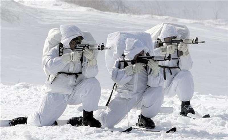 «Белые медведи» российского спецназа
