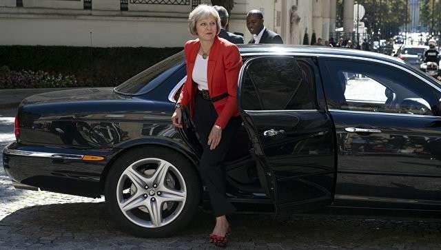 Британский политик Тереза Мэй. Архивное фото