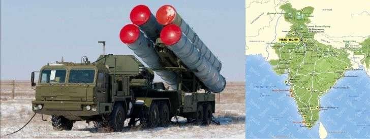 Индия хочет приобрести у России 12 систем С-400