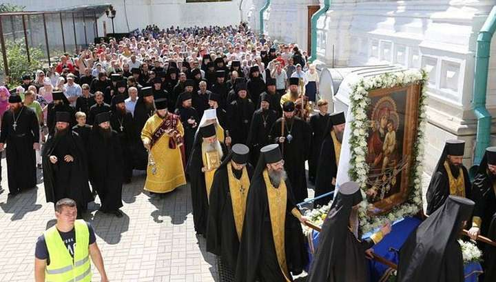 За мир нужно не молиться, а бороться! Крестный ход на Украине
