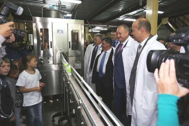 В посёлке Раздольном Камчатского края открыт первый в регионе современный молокозавод