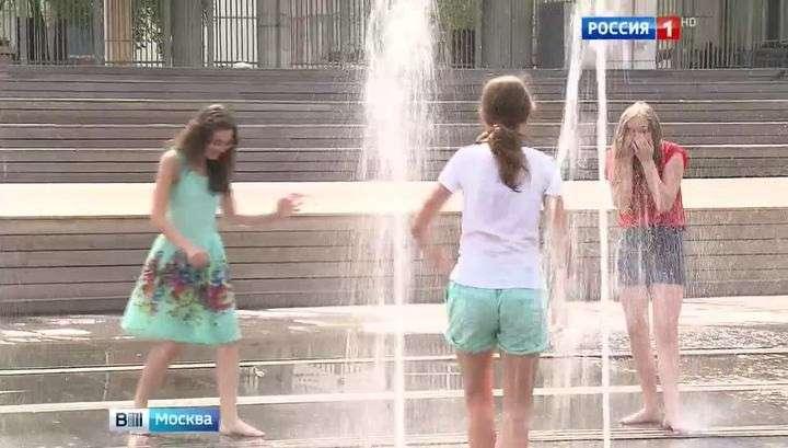 Москвичей в ближайшие несколько дней ждёт испытание жарой