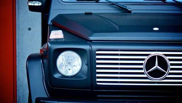 Автомобиль Mercedes-Benz Gelandewagen