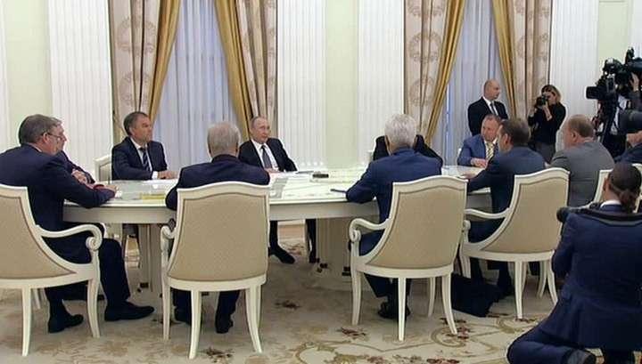 Владимир Путин надеется, что в Госдуму наконец-то придут эффективные люди