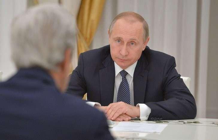 Дмитрий Песков рассказал о беседе Владимира Путина и Джона Керри