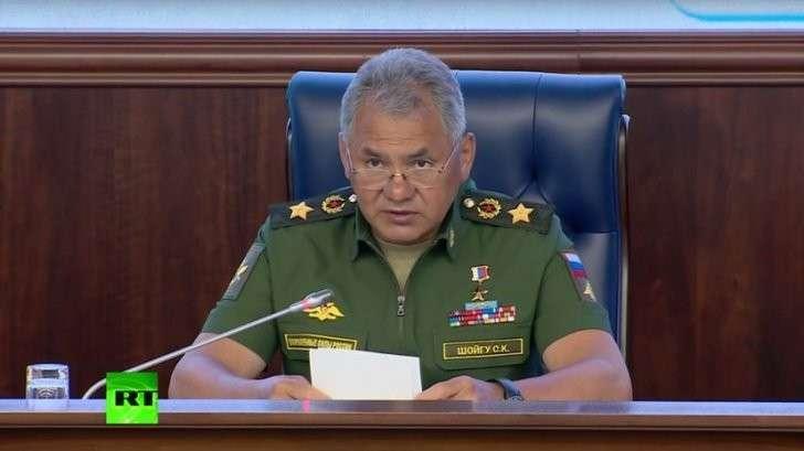 Сергей Шойгу: РФ предотвратила расширение деятельности террористических группировок в Сирии