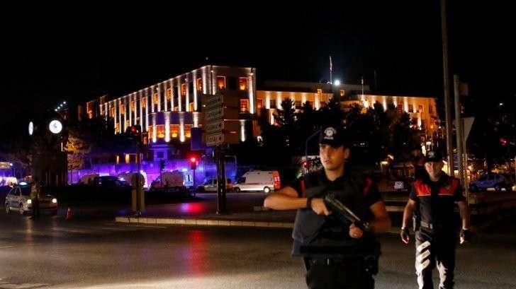 Генштаб Турции заявил о захвате власти в стране
