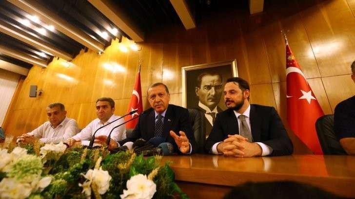 Эрдоган: Мятежники получали приказы из США
