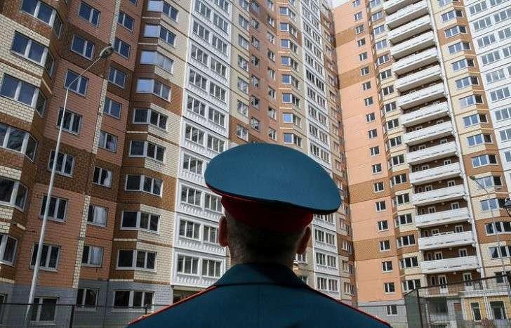 Минобороны РФ получило почти шесть тысяч квартир для военнослужащих