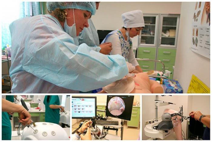 Как в Боткинской больнице тренируются на роботах
