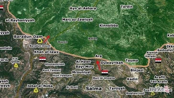 Сирийская армия вернула себе полный контроль на турецкой границе