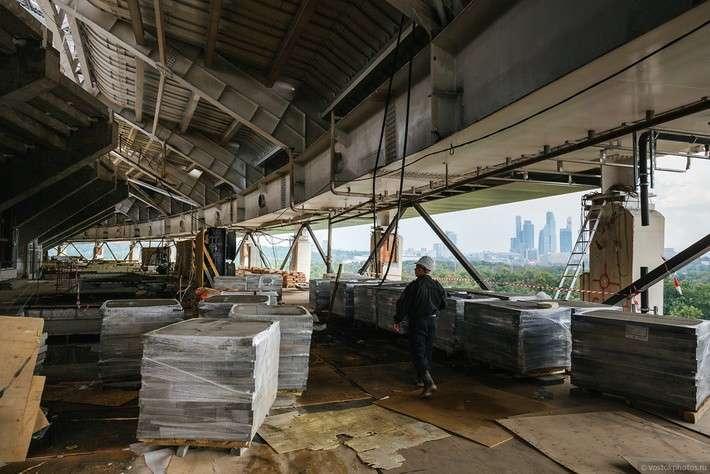 Реконструкция Большой спортивной арены «Лужники». Июль 2016