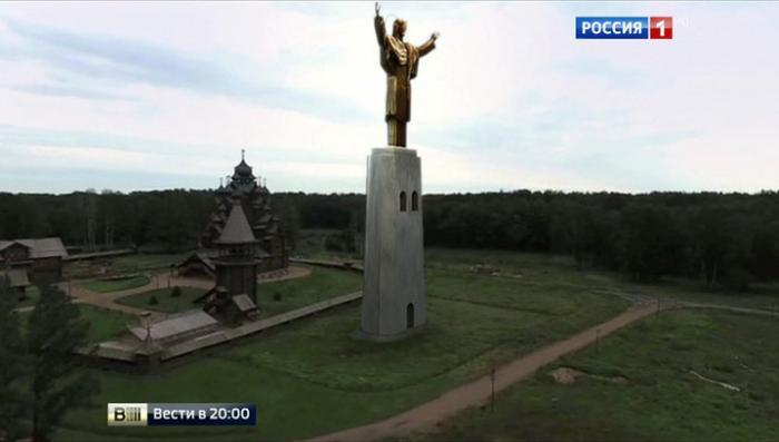 Статую 80-метрового Христа назвали памятником самому Церетели