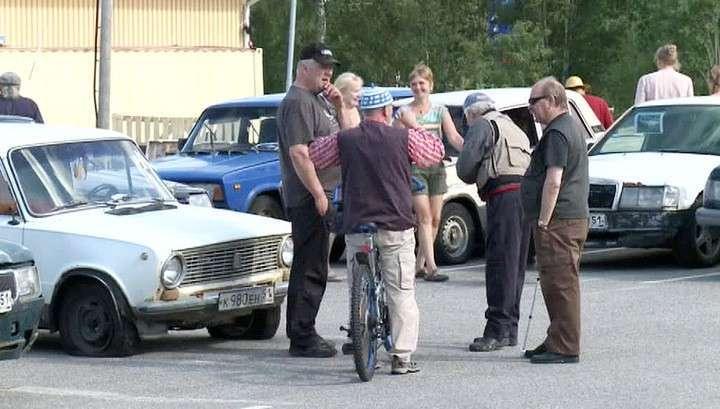В Финляндии прошёл необычный аукцион старых советских автомобилей