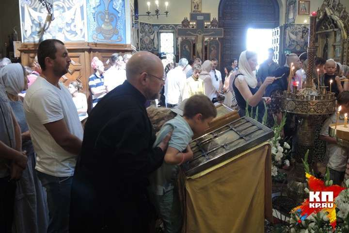Свято-Николаевский кафедральный собор в Ницце Фото: Дарья АСЛАМОВА