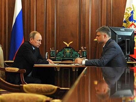 Владимир Путин обсудил с главой РЖД результаты деятельности компании