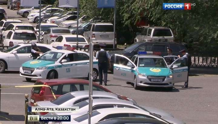 В Алма-Ате атака террористов отбита