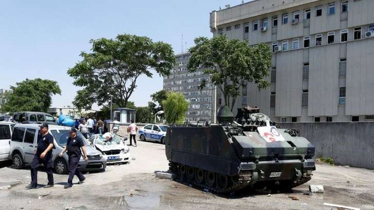 Политический кризис в Турции после попытки госпереворота