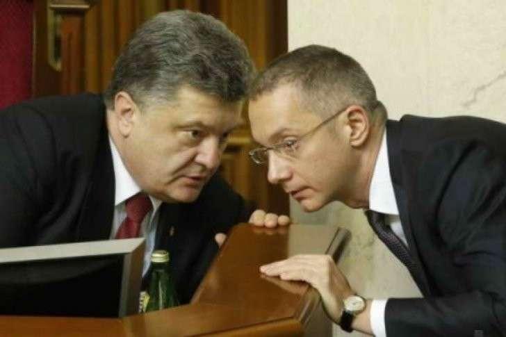 Пётр Порошенко, Борис Ложкин