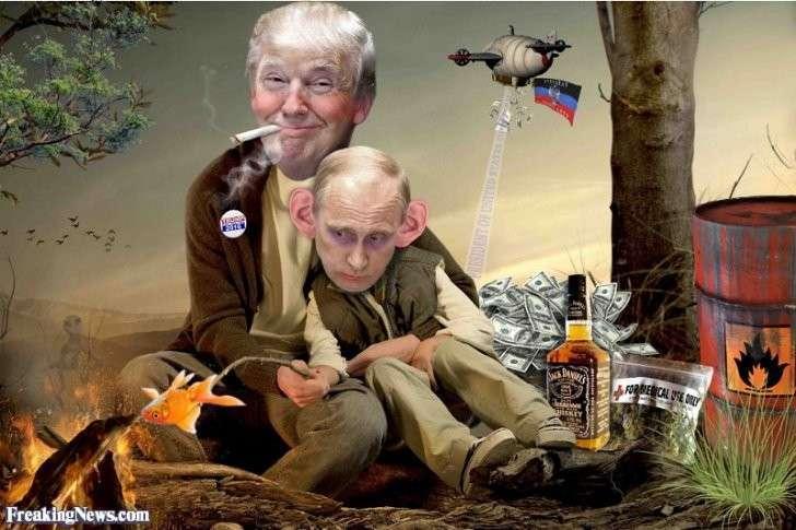 Украина-2016: Путин Трамп Эрдоганович и неприлетевшие «джавелины»