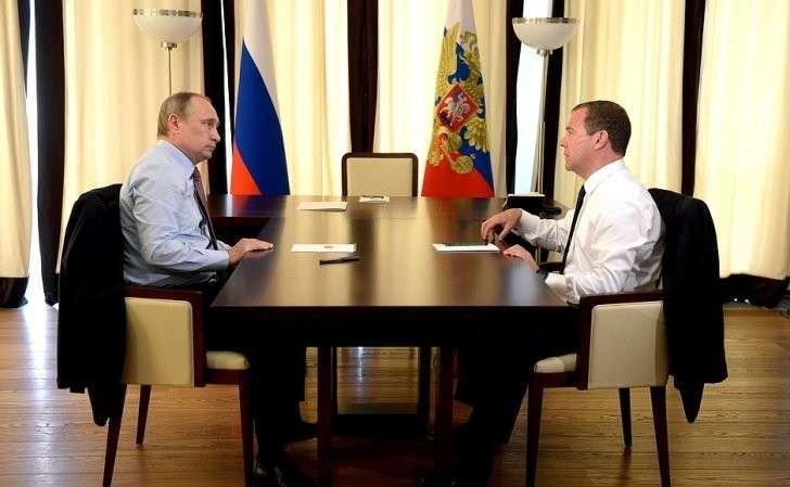 СПредседателем Правительства Дмитрием Медведевым.