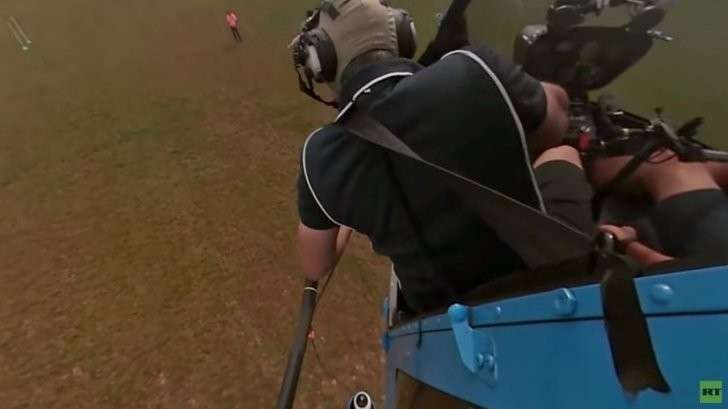 Вертолётный спорт 360°: RT представляет панорамное видео из кабины пилотов
