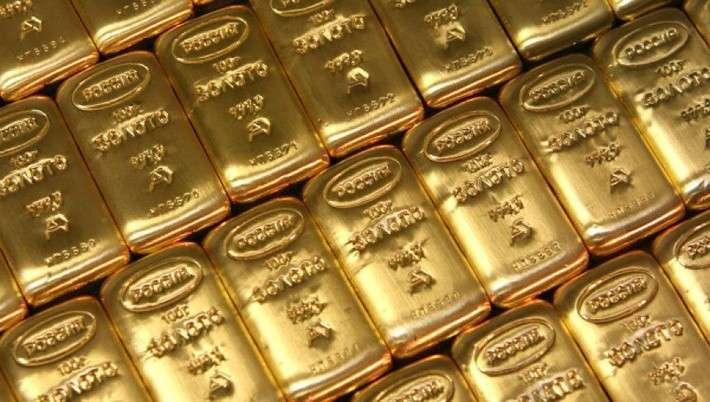 Золотой запас России за июнь 2016 увеличился на 18,7 тонн и достиг 1499,2 тонны