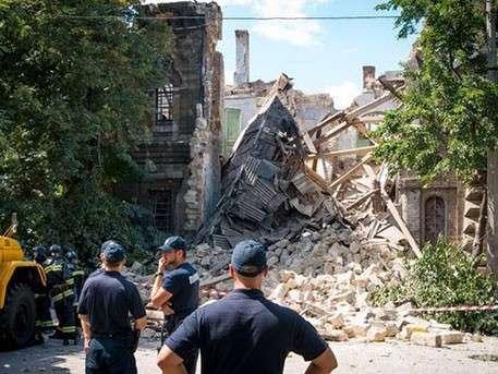 В Одессе рухнул «Масонский дом»
