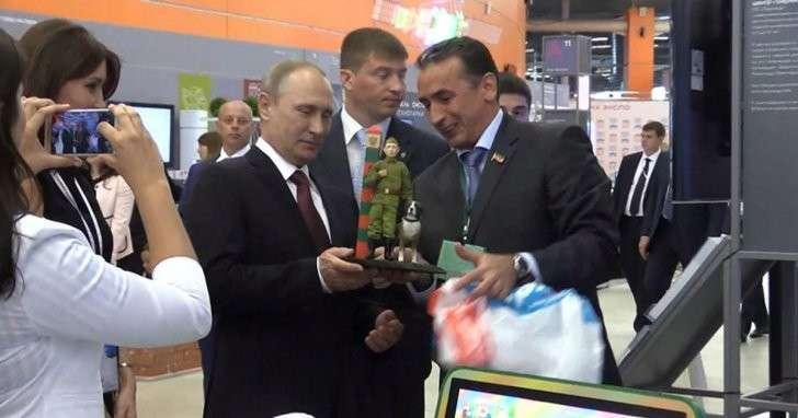 Президент Путин посетил форум Агентства Стратегических Инициатив