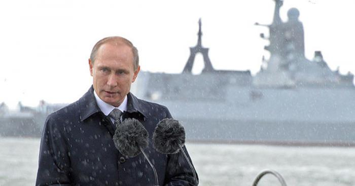 Владимир Путин посетит Санкт-Петербург на день ВМФ