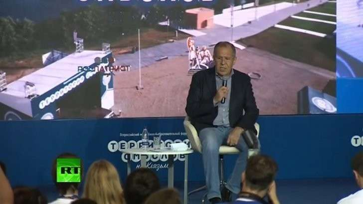 Сергей Лавров участвует в форуме «Территория смыслов на Клязьме» - прямая трансляция