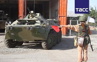 Российские военные в Таджикистане подняты по тревоге