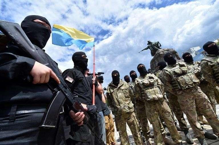 Иностранные наёмники начали боевой путь на Украине взятием Мариуполя