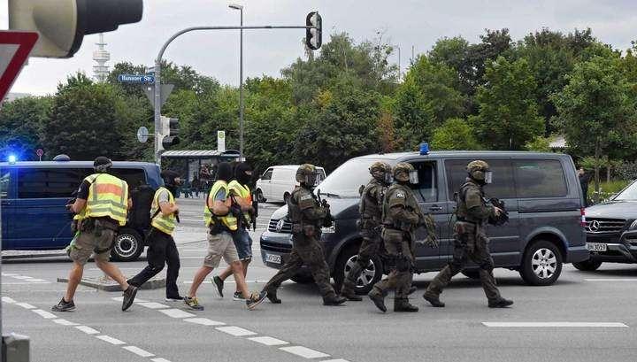 К зданию торгового центра в Мюнхене прибыл армейский спецназ