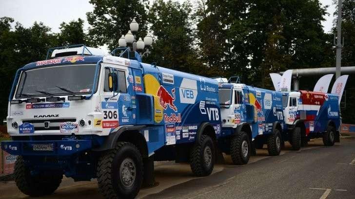 Экипаж российской команды «КАМАЗ-мастер» стал победителем ралли «Шёлковый путь»