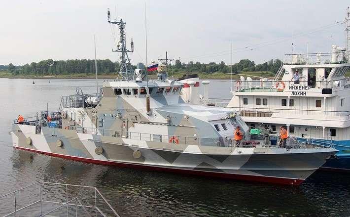 Противодиверсионный катер «Грачонок» для Северного флота спустили на воду