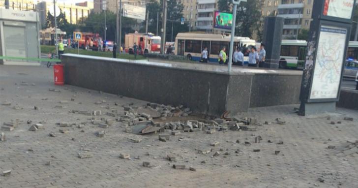 Причиной взрыва у станции метро Войковская стал скопившийся газ