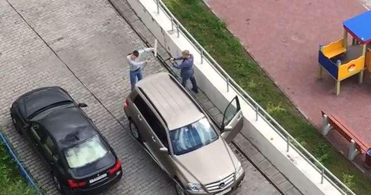 В Красногорске задержан водитель Mercedes-Benz за стрельбу у детской площадки