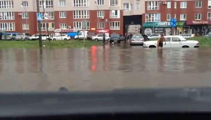 Омск накрыла стихия: воды стало слишком много