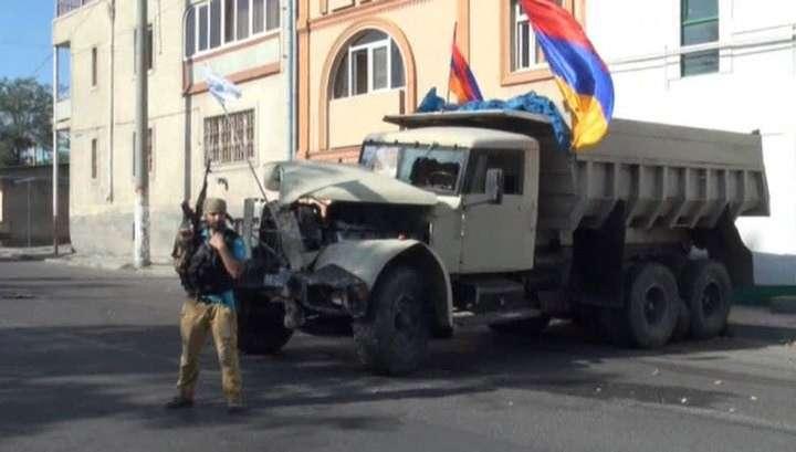 Захватчики здания в Ереване создали «пресс-центр»