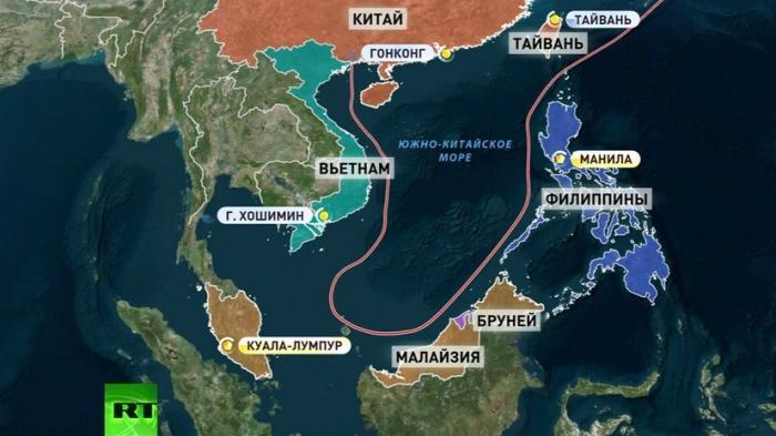 Китай и Филиппины недовольны вмешательством США в их региональный спор