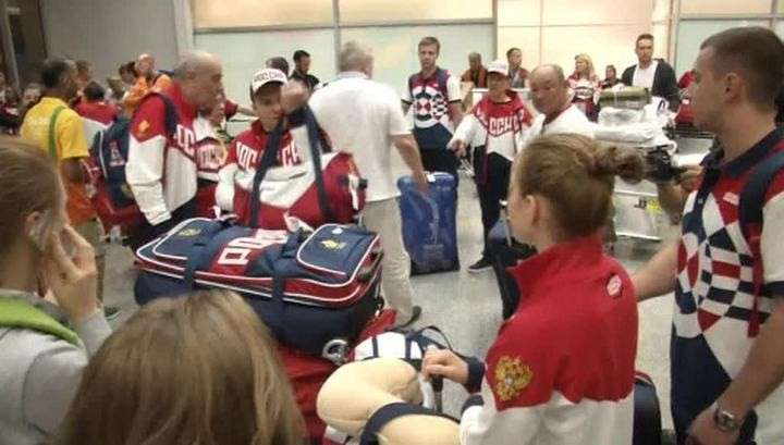 Российские гимнасты прибыли в Рио