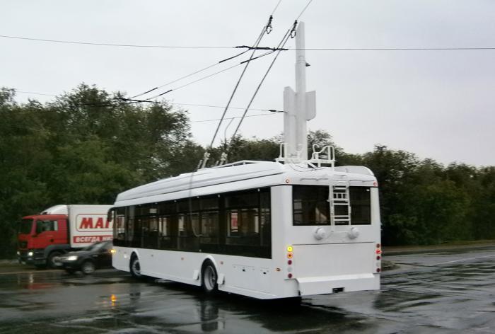 Первый троллейбус «Мегаполис 2» вышел на линию