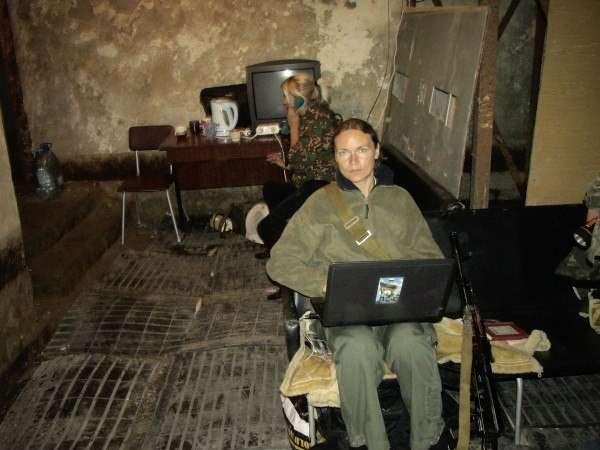 Гражданка Германии Маргарита Зайдлер приехала защищать Донбасс от фашизма